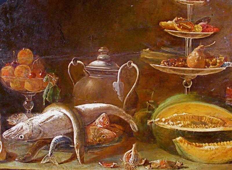Il pesce for Cibi romani