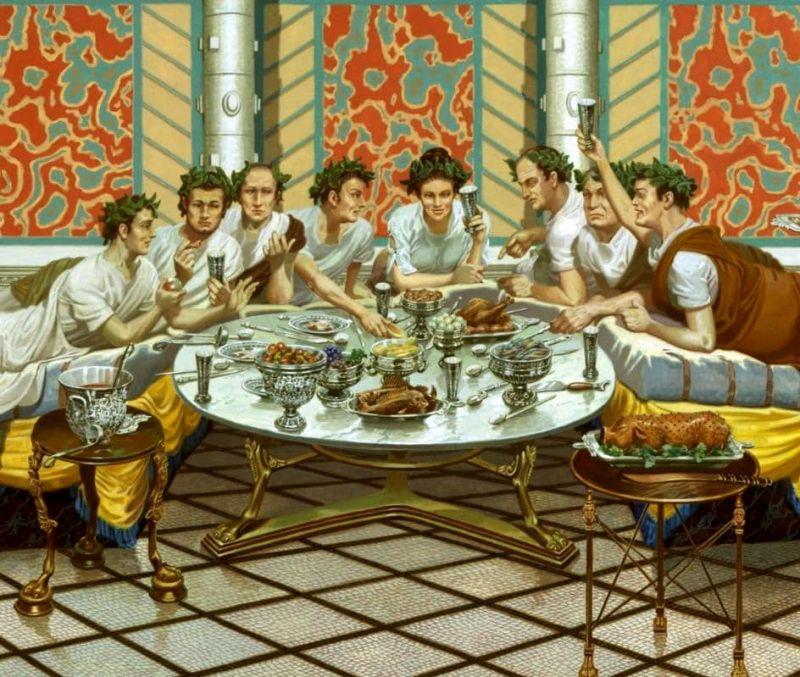 Dieta nell 39 antica roma for Secondi romani