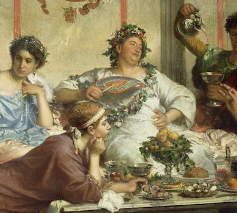 Simbolismo alimentare dei romani for Cibi romani