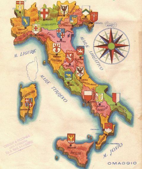 Rivoluzione gastronomica e cucine locali italiane - Cucina regionale italiana ...